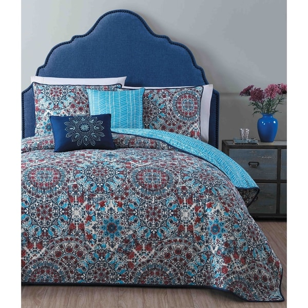 Avondale Manor Lacey 5-piece Quilt Set