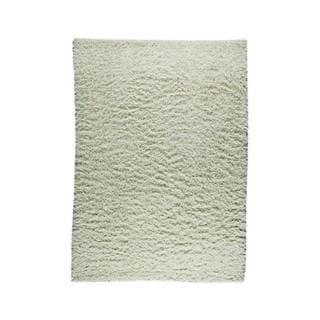 M.A.Trading Indian Hand-knotted Tokyo Off-white Rug (5'6 x 7'10)