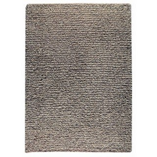 M.A.Trading Indian Hand-knotted Tokyo Grey/ Beige Rug (6'6 x 9'9)