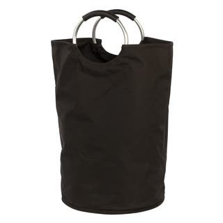 'The Bag' Black Hamper/ Laundry Bag/ Storage Tote|https://ak1.ostkcdn.com/images/products/11467888/P18424452.jpg?impolicy=medium