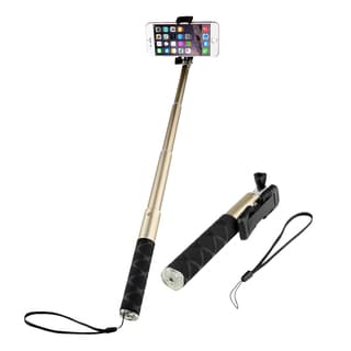 Insten Universal 63-cm Aluminium Alloy Lightweight Extendable Handheld Monopod Selfie Stick in Assorted Colors