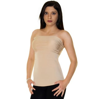 Instantfigure Apparel Strapless Bandeau Top