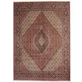 Herat Oriental Persian Hand-knotted Bidjar Wool Rug (8'3 x 11'6)