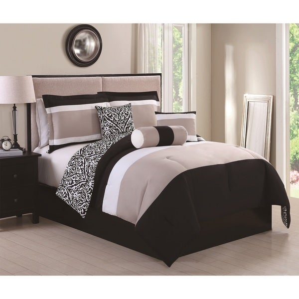 Amelina Reversible 6-piece Comforter Set