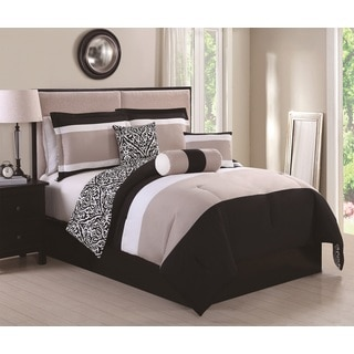 Amelina Reversible 6-piece Comforter Set