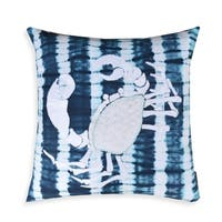 Marnia Navy Crab 20-inch Pillow