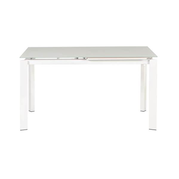 Modern Life Hale White Extension Dining Table