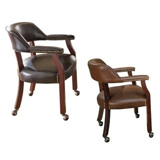 Beautiful Brown Leather Dining Room Chairs Contemporary Home - Brown leather dining room chairs