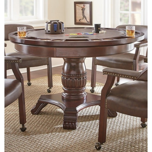Shop Gracewood Hollow Kimmerer Round Cherry Table With