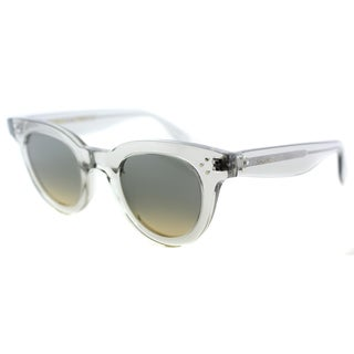 Celine CL 41375 RDN Transparent Grey Plastic Fashion Grey Gradient Lens Sunglasses
