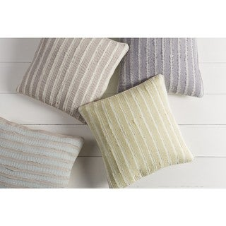 Decorative Gade 22-inch Poly or Feather Down Filled Pillow