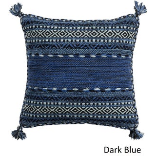 Southwest Tassels 18-inch Poly or Feather Down Pillow
