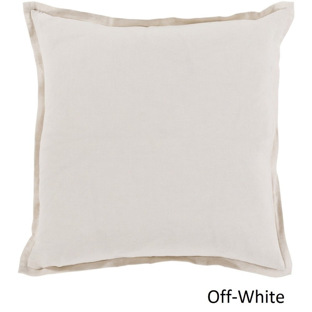 Shop Decorative Iraq 20-inch Poly or Feather Down Filled Pillow - 11468670