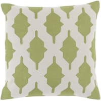 Decorative Fori 20-inch Poly or Feather Down Filled Pillow