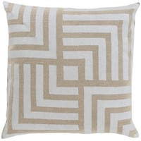 Decorative Bird 20-inch Poly or Down Filled Pillow