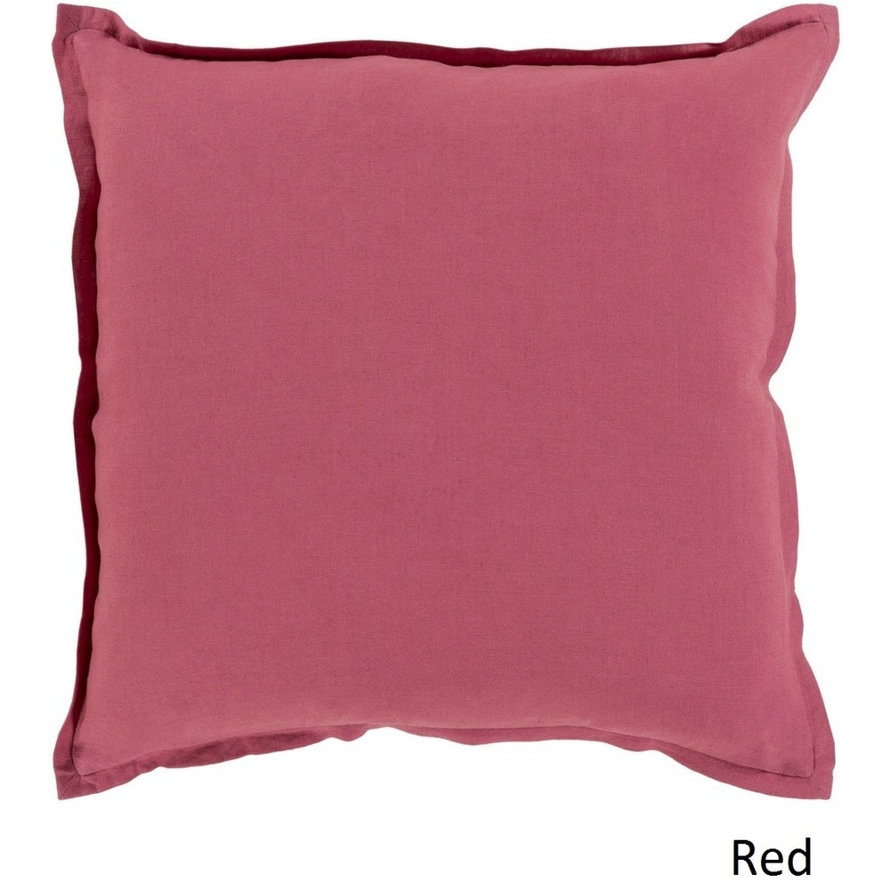 Shop Decorative Iraq 18-inch Poly or Feather Down Filled Pillow - 11468688