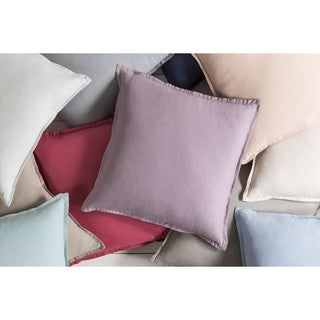 Decorative Iraq 18-inch Poly or Feather Down Filled Pillow