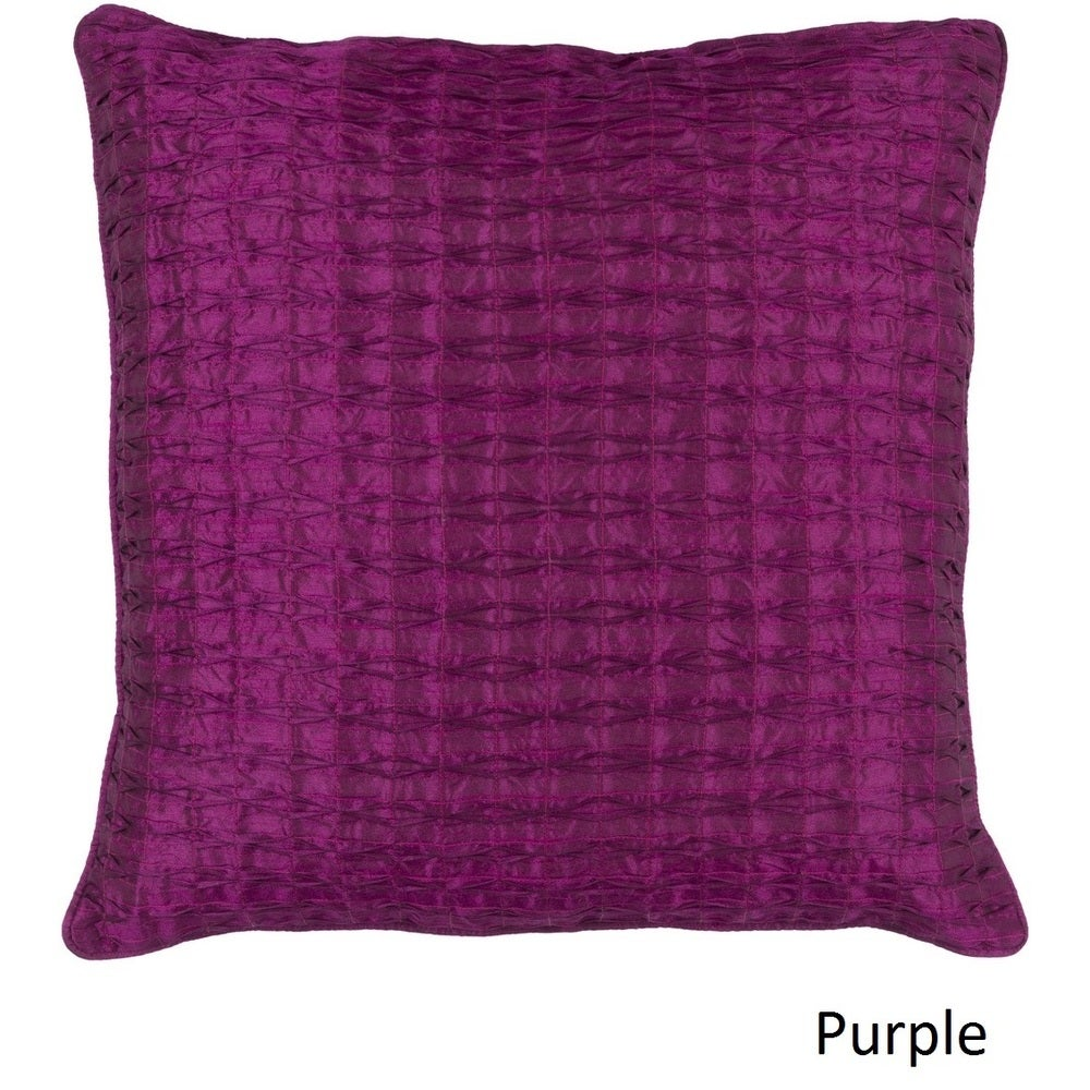 Shop Decorative Gran 18-inch Poly or Feather Down Filled Pillow - Overstock - 11468689