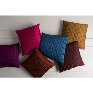 Decorative Gran 18-inch Poly or Feather Down Filled Pillow