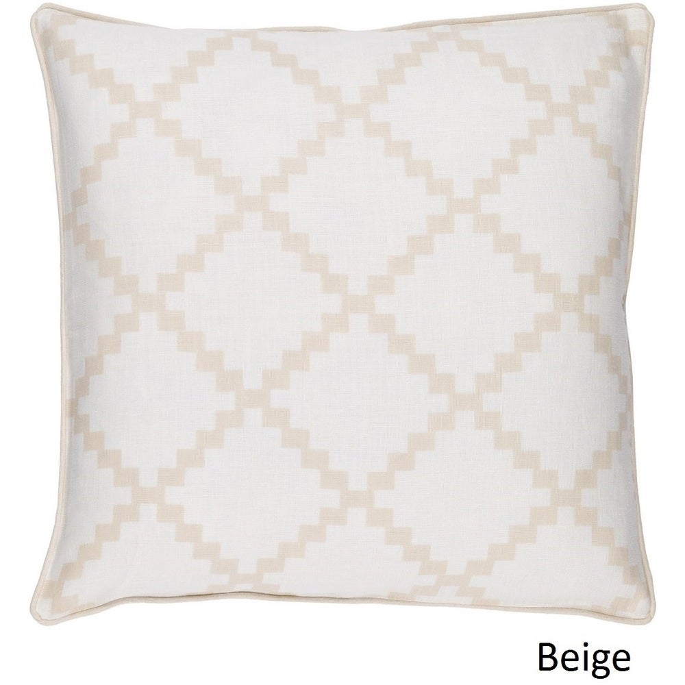 Shop Decorative Gish 18-inch Poly or Feather Down Filled Pillow - 11468690