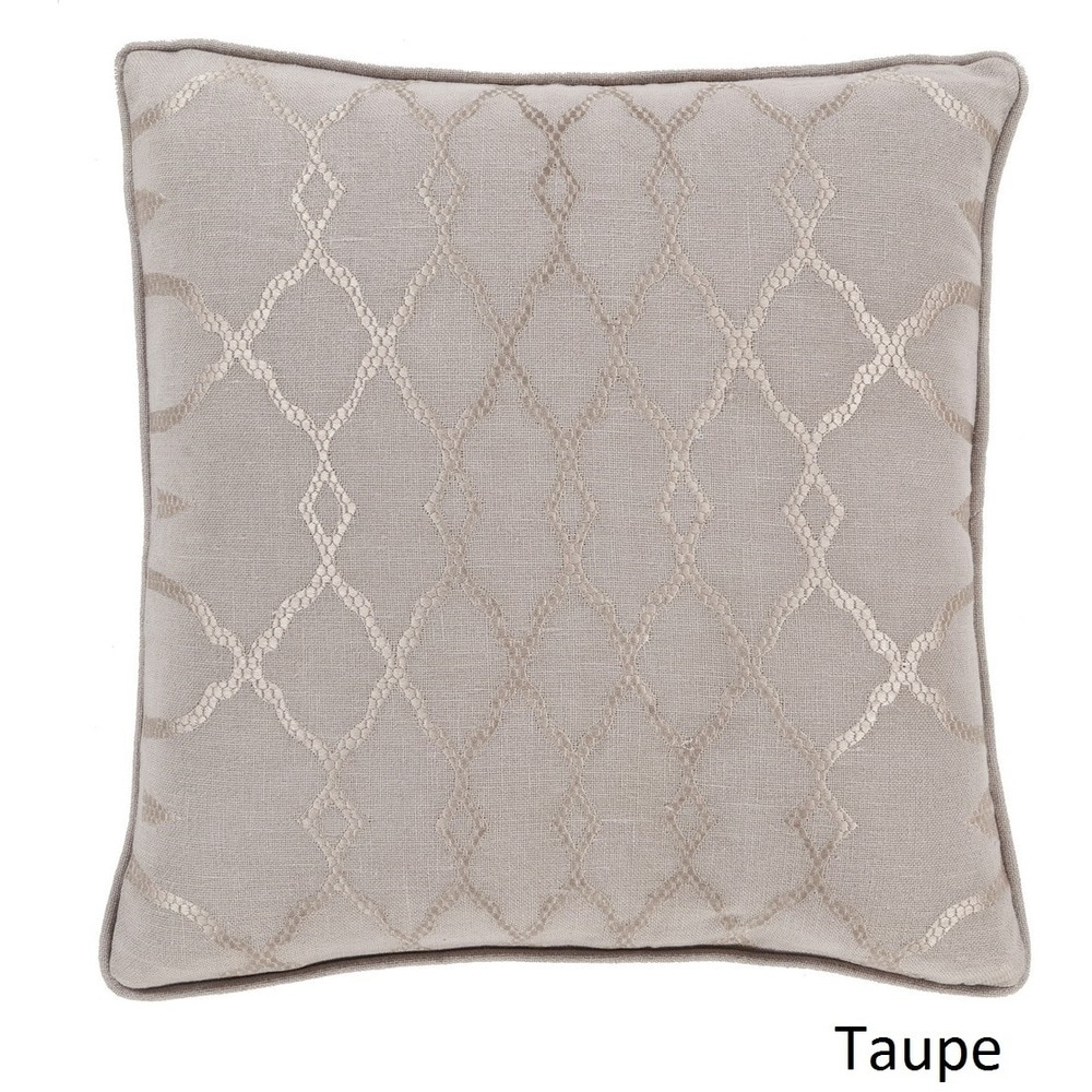 Shop Decorative Fong 18-inch Poly or Feather Down Filled Pillow - Overstock - 11468692