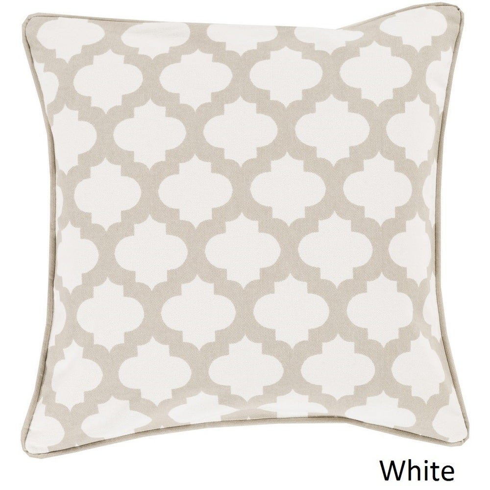 Shop Decorative Fair 18-inch Poly or Feather Down Filled Pillow - Overstock - 11468695