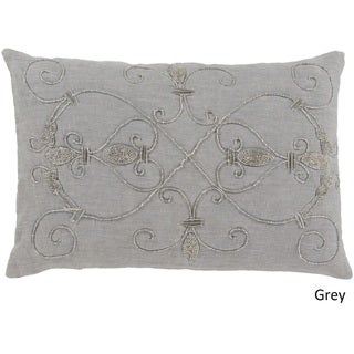 Decorative Keys Poly or Down Filled Pillow (13 x 19)