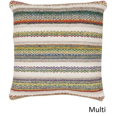 Decorative Fawn 30-inch Poly or Feather Down Filled Pillow