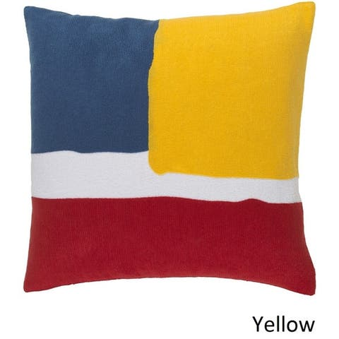 Decorative Minh 22-inch Poly or Feather Down Filled Pillow
