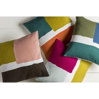 Decorative Minh 22-inch Poly or Down Filled Pillow