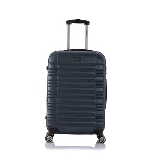 InUSA New York Collection 24-inch Lightweight Hardside Spinner Suitcase