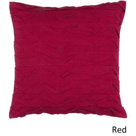 Decorative Gion 22-inch Poly or Feather Down Filled Pillow