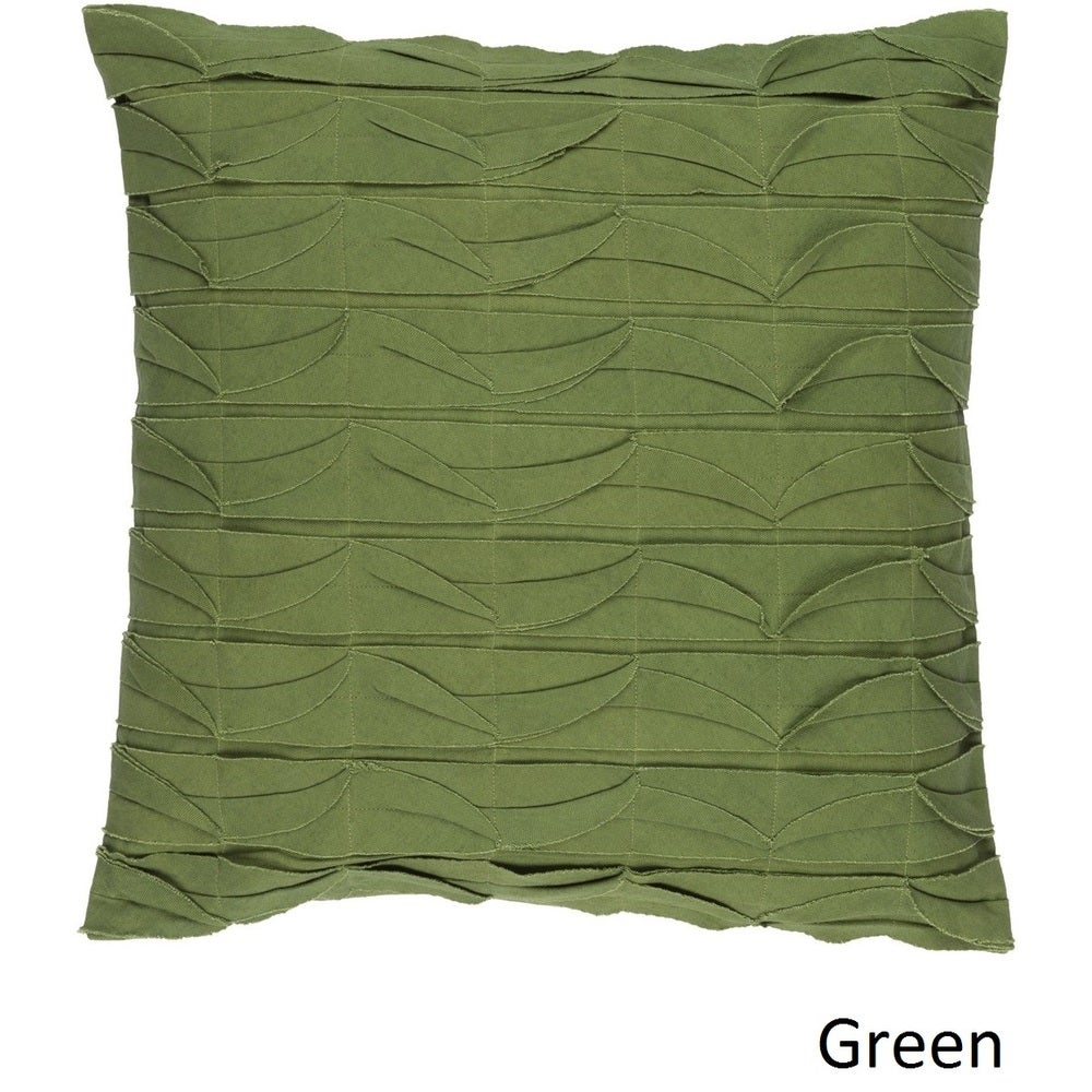 Shop Decorative Gion 20-inch Poly or Feather Down Filled Pillow - Overstock - 11468730