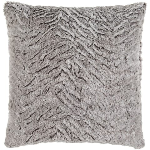 Decorative Oaks 18-inch Poly or Feather Down Filled Pillow