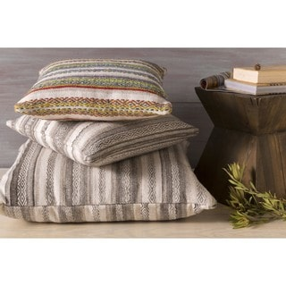 Decorative Fawn 18-inch Poly or Feather Down Filled Pillow