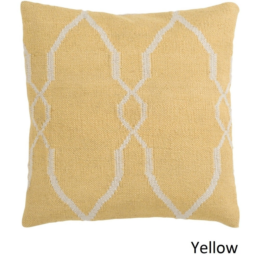 Shop Decorative Gabe 18-inch Poly or Feather Down Filled Pillow - 11468741