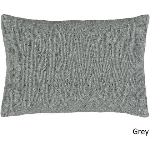 Decorative Nema Poly or Feather Down Filled Pillow (13 x 20)
