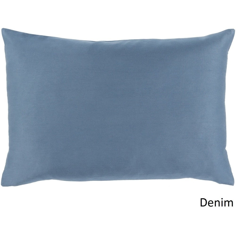 Shop Decorative Hong Poly or Feather Down Filled Pillow (13 x 19) - Overstock - 11468743
