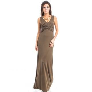 JED Women's Soft Stretchy Jersey Tank Maxi Casual Dress