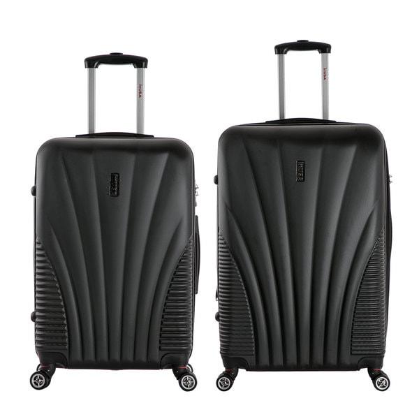 InUSA Chicago 2-piece Lightweight Hardside Spinner Large Luggage ...
