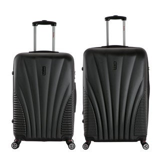 InUSA Chicago 2-piece Lightweight Hardside Spinner Large Luggage Set