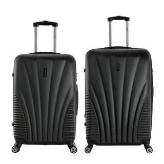 InUSA Chicago 2-piece Lightweight Hardside Spinner Large Luggage Set
