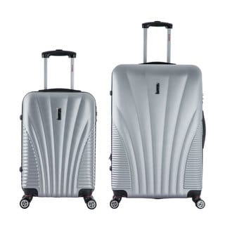 InUSA Chicago 2-piece Lightweight Hardside Spinner Luggage Set