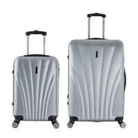 InUSA Chicago 2-piece Lightweight Hardside Spinner Luggage Set