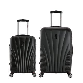 InUSA Chicago 2-piece Lightweight Hardside Spinner Small Luggage Set