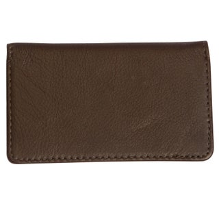 Canyon Outback Leather Cross Canyon Business Card Case (2 options available)