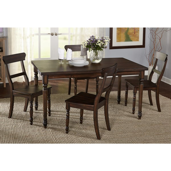 Simple living 5 piece muses dining set free shipping for Living room 5 piece sets