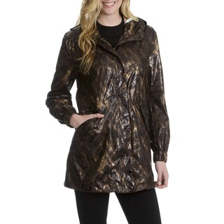 Nikki Jones Montreal Women's Animal Print Hooded Anorak