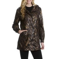 Montreal Women's Animal Print Hooded Anorak