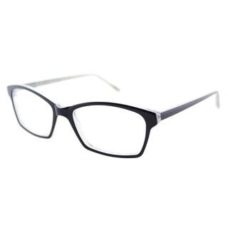 Lafont Hit Parade 3022 Navy on Crystal Print Plastic Square 53mm Eyeglasses
